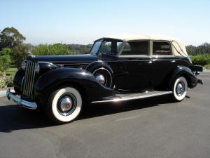 Packard Twelve Model 1708 All Weather Cabriolet by Brunn 1939 года