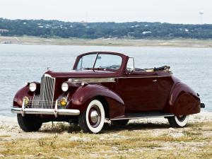 Packard 120 Convertible Coupe 1940 года