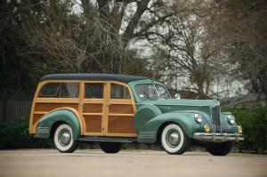 1941 Packard 120 Deluxe Woodie Station Wagon by Hercules