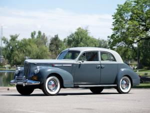 Packard 180 Custom Super Eight Sport Brougham by LeBaron 1941 года