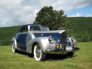 1941 Packard Super Eight 160 Convertible Victoria