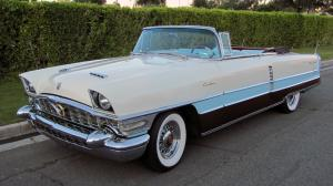 1956 Packard Caribbean Convertible White