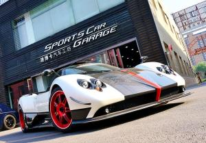 Pagani Zonda Cinque on Forgiato Wheels (Esporrer) 2009 года