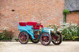 1901 Panhard & Levassor 7 HP Twin-Cylinder 4-Seater Rear-Entrance Tonneau