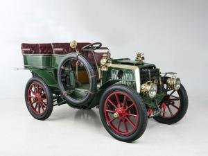1902 Panhard & Levassor Type B1 12 HP Rear-entrance Tonneau