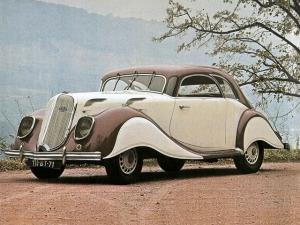 Panhard Dynamic X77 Coupe 1936 года
