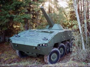 2004 Patria AMV 8x8 with NEMO