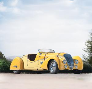 Peugeot 402 Darlmat Legere Special Sport Roadster by Marcel Pourtout 1938 года