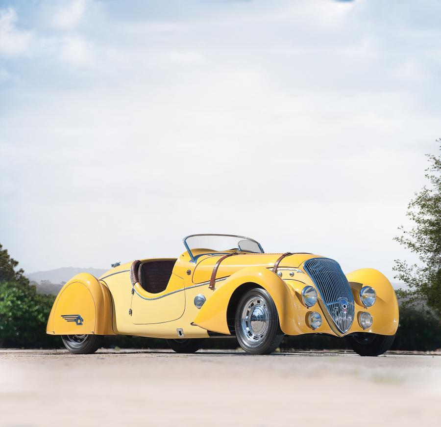Peugeot 402 Darlmat Legere Special Sport Roadster by Marcel Pourtout '1938
