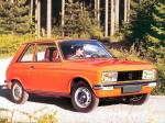 Peugeot 104 Coupe ZL 1976 года