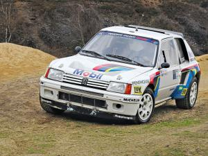 1984 Peugeot 205 T16 Rally Car