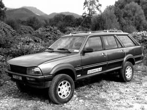 1986 Peugeot 505 Break Dangel 4x4