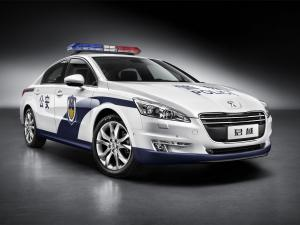 Peugeot 508 GT Police 2011 года