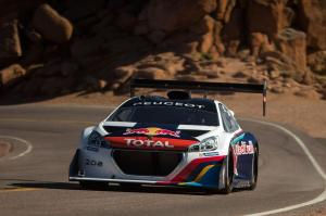 Peugeot 208 T16 at Pikes Peak with Sebastien Loeb 2013 года