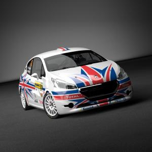 2014 Peugeot 208 R2 Chris Ingram