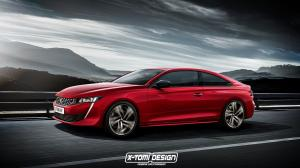 Peugeot 508 Coupe GT by X-Tomi Design 2018 года