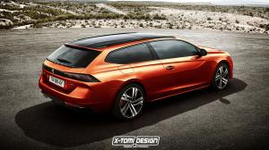 2018 Peugeot 508 GT ShootingBrake by X-Tomi Design