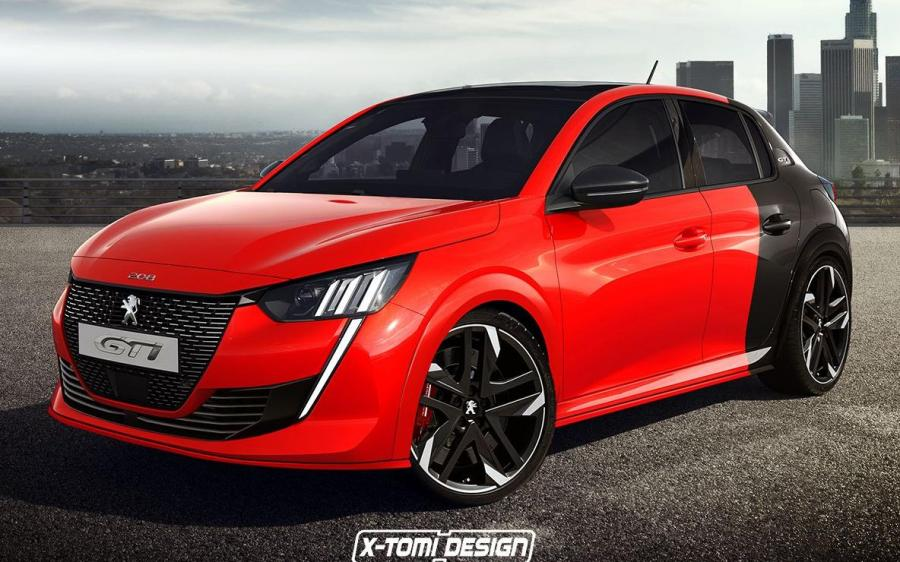 Peugeot 208 GTi by X-Tomi Design '2019