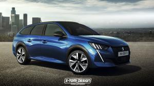2019 Peugeot 208 SW by X-Tomi Design
