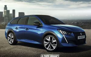 Peugeot 208 SW by X-Tomi Design