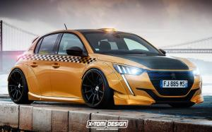 Peugeot 208 Taxi by X-Tomi Design 2020 года