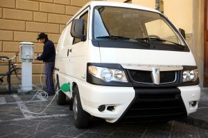 Piaggio Porter Panel Van Electric Power