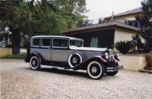 1930 Pierce-Arrow Model B 7-Passenger Sedan
