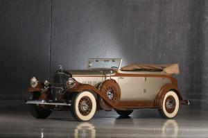 1932 Pierce-Arrow Model 54 Convertible Sedan by LeBaron