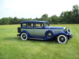 1932 Pierce-Arrow Twelve Touring Sedan