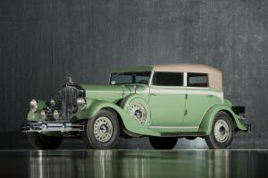Pierce-Arrow 12 Model Convertible Sedan 1933 года