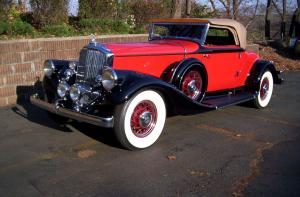1933 Pierce-Arrow V12 Convertible Coupe