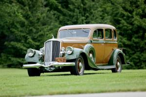 Pierce-Arrow 12 Model Sedan 1934 года