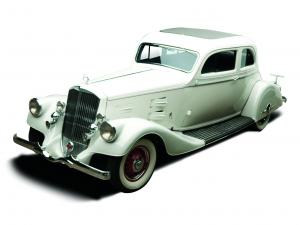 1934 Pierce-Arrow Silver Arrow Coupe