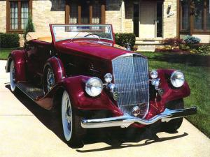 1934 Pierce-Arrow Twelve Convertible