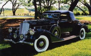 1935 Pierce-Arrow 12 Model 1245 Convertible Coupe