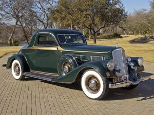Pierce-Arrow Model 845 Coupe 1935 года
