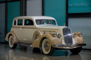 1936 Pierce-Arrow Deluxe 8 Touring Sedan