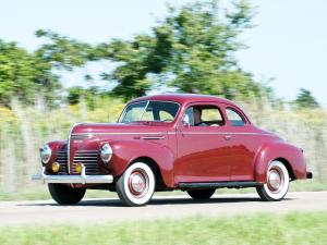 Plymouth DeLuxe Coupe 1940 года