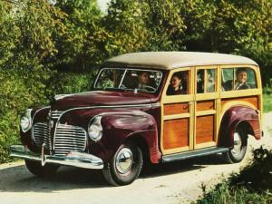 1941 Plymouth Special DeLuxe Station Wagon