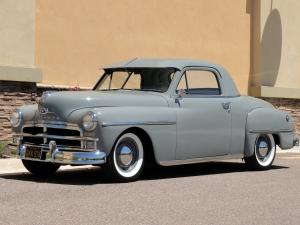Plymouth DeLuxe Business Coupe 1950 года