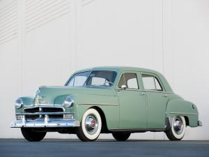 Plymouth Special DeLuxe 4-Door Sedan 1950 года