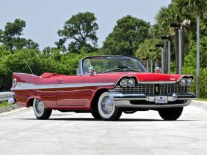 Plymouth Sport Fury Convertible 1959 года