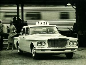 Plymouth Valiant Taxi 1962 года