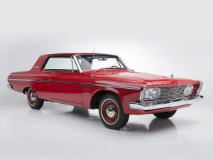 1963 Plymouth Belvedere 426/425 HP Max Wedge Stage II Hardtop Coupe
