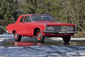 Plymouth Savoy 426/415 HP Max Wedge Stage II 2-Door Sedan 1963 года