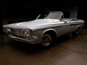 Plymouth Sport Fury Convertible 1963 года
