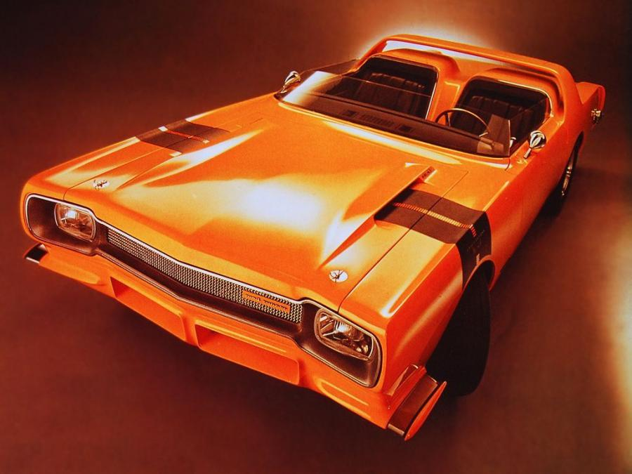 Plymouth Road Runner Concept Car