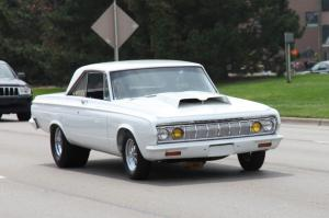 Plymouth Belvedere I Drag Car 1965 года