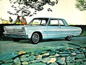 1965 Plymouth Fury I 2-Door Sedan