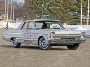 Plymouth Sport Fury Convertible Indy 500 Pace Car 1965 года